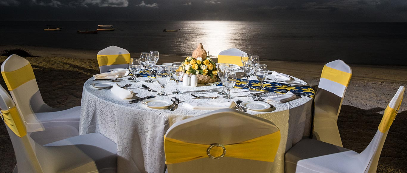 Private Dinner Package  Banner